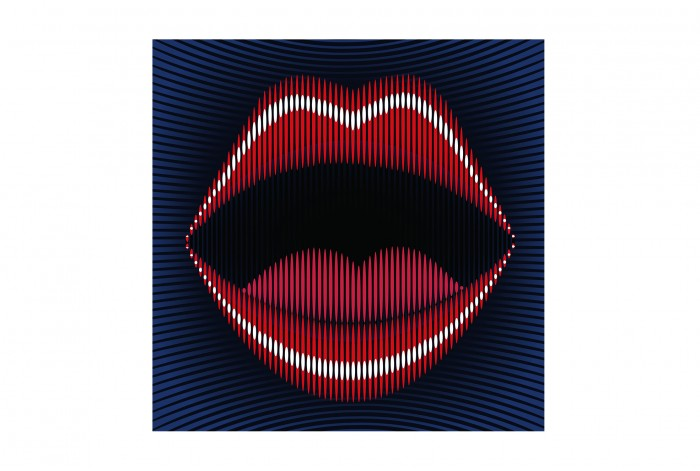 Картина в стиле Поп - арт  Красивые губы