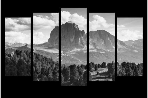 Модульная картина Горы